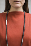 Imperfect necklace ALU dark