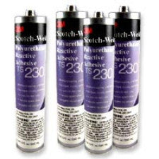 3M TS230 Scotchweld adhesive 322GMS Case of 5 - Clear