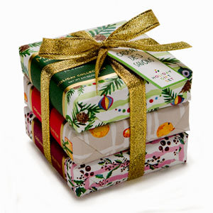 3 Soap Wrap Holiday