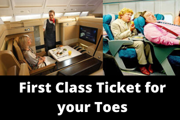 First Class for Toes