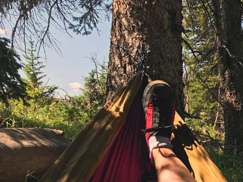 Backpacking in Lightweight, Barefoot-Inspired Shoes