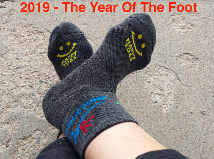 2019 - The Year Of The Foot!