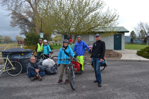The SOM Footwear team participated in the Montrose Area Bicycle Alliance's 2nd annual Pedal Up to Clean Up Event.