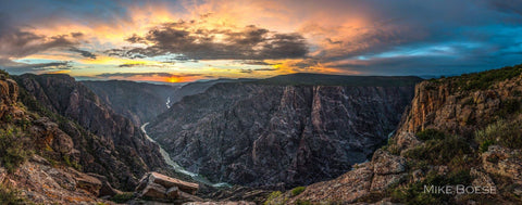 Black Canyon of the Gunnison National Park by Mike Boese, Peak Life Photography