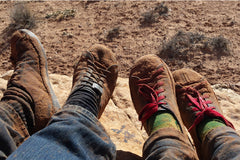 SOM shoes put at test in the Utah's canyons.