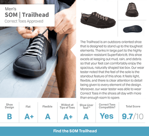 Dr Ray endorsement of Trailhead Som Footwear