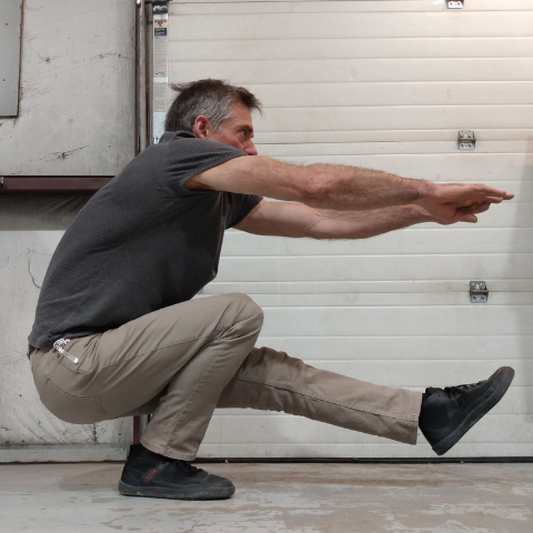 Are high-top healthy for your feet? Pistol squat helps you to have healthy ankles. Freedom of movement is the key.