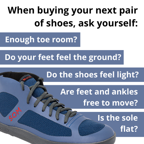 Are your high-top shoes healthy for your feet