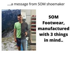 Treat your feet well and trust them. A message from our shoemaker