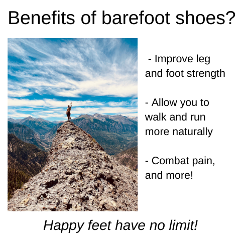 What are the benefits of barefoot shoes?