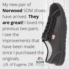 Norwood Classic shoes are classy, comfortable, and breathable.