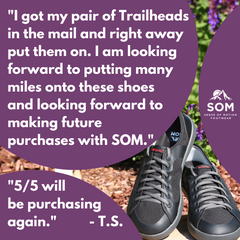 Trailheads are a great investment because they are shoes that will treat your feet well for years and miles.
