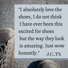 SOM Footwear's minimalist shoes are lightweight and look amazing testimonial