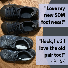 SOM Footwear's minimalist shoes are long-lasting and breathable testimonial