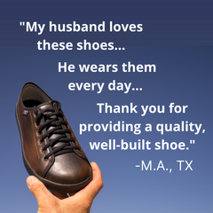 SOM Footwear's minimalist shoes are well-built in America and provide exceptional quality testimonial