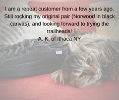 SOM Footwear's Norwood shoes are durable and long-lasting testimonial