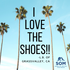 SOM shoes are true love for your feet. You'll never want to keep the two part.