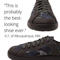 SOM Footwear's minimalist shoes are great for balance and posture and look amazing testimonial