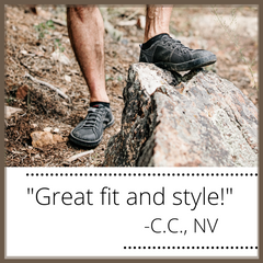 SOM Footwear's minimalist shoes are a great fit with superior style testimonial