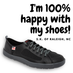 SOM Footwear's minimalist shoes are great for balance and posture and blood circulation testimonial