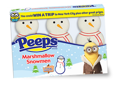 Peeps marshmallow candies are proudly made in the USA.