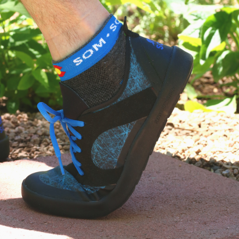 Nutrail sneakers made by SOM Footwear are flexible, durable shoes for hiking, releaxing, or exercising
