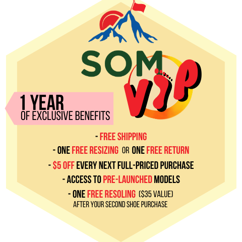 SOM VIP grants one year of exclusive benefits like free shipping, one free return or exchange, and so much more!