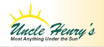 Uncle Henry's logo.