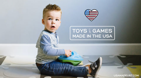 USA Made List Toys and Games