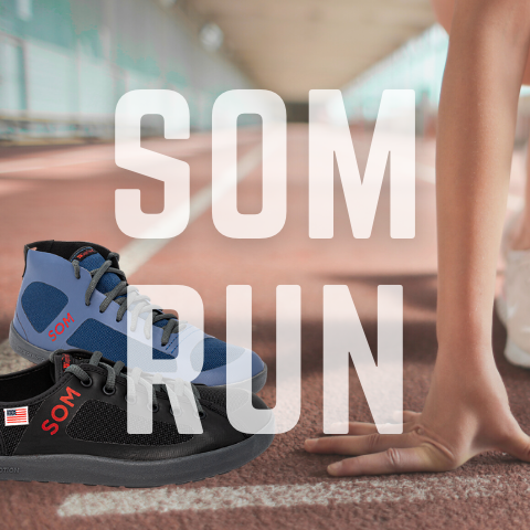SOM footwear is the best choice for running shoes because they let you use the great soles on the planet: your bare feet.