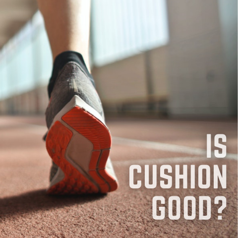 Is running shoe cushion bad for your feet