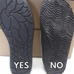 SOMs have different soles. Which can be resoled to extend the life of your sneakers.
