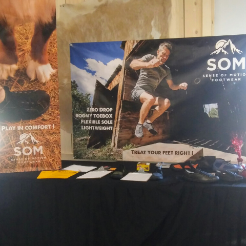 SOM Footwear attending a Montrose Chamber of Commerce event to shop our future products