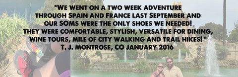 spain, france, adventure, they were the only shoes we needed
