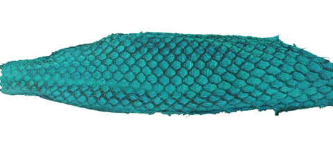 Fish leather is one material that we could use for our shoes.