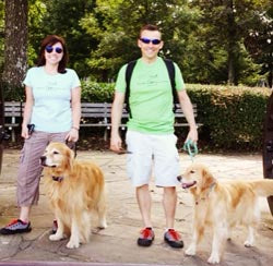 From our first pairs fans and their dogs