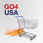 GO4USA app helps you find goods and services from America.