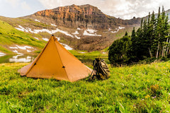 Seek Outside in action, tents and backpack made in Colorado
