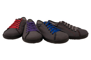 Briquette in all 3 colors showing up all color laces possible
