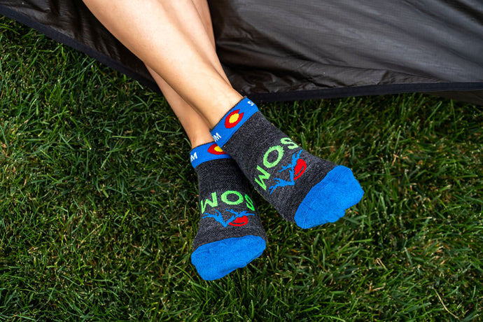 SOM Fun Adventure merino wool socks