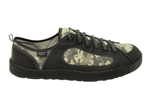 Camo Combat Roomy Toebox Shoes