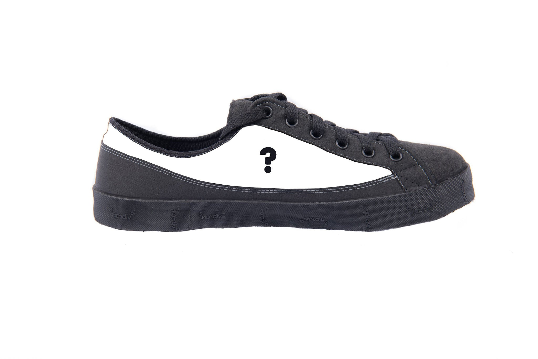 2a6e19ceb2 ... SOM barefoot inspired minimalist shoe with question mark on blank upper  ...