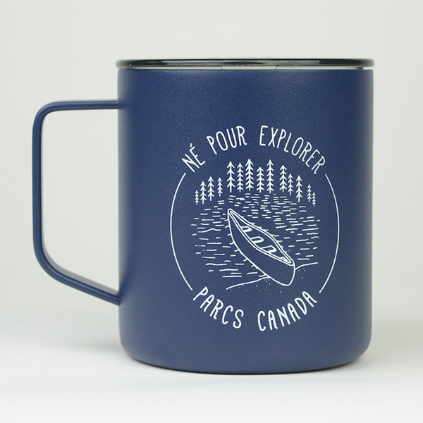 Born to Explore Camper Mug- French