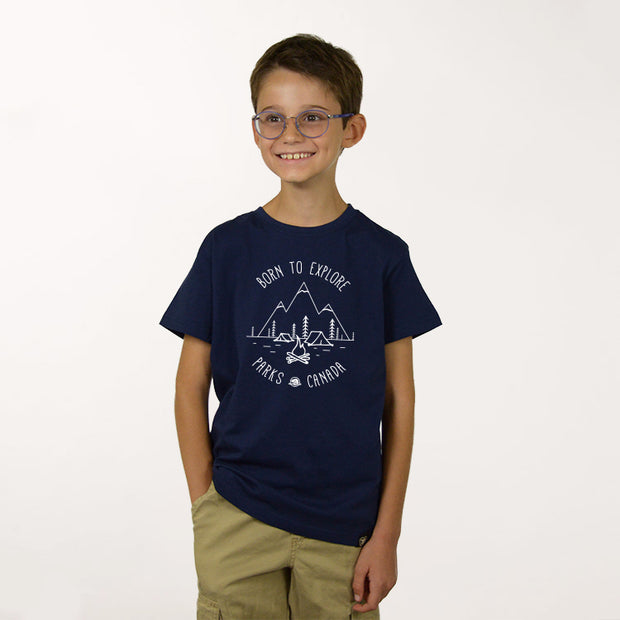 Boys Born to Explore T-shirt- English