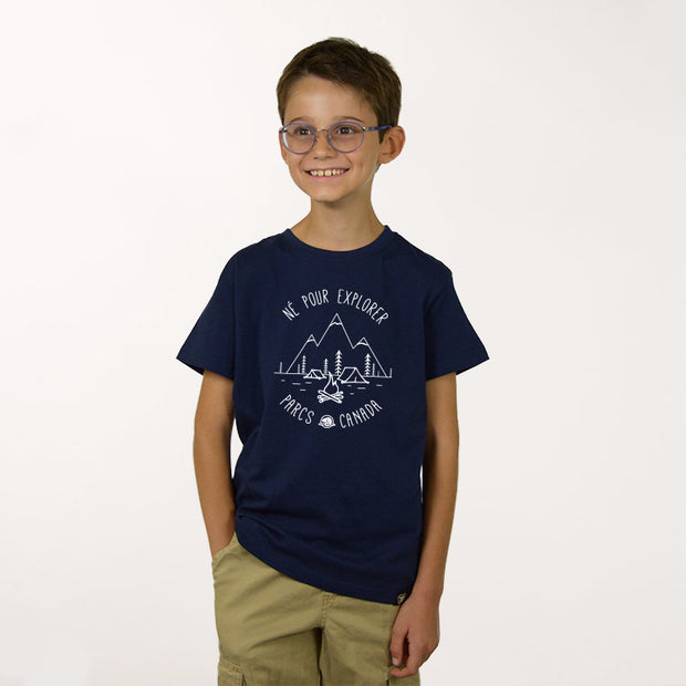 Born to Explore T-shirt- French