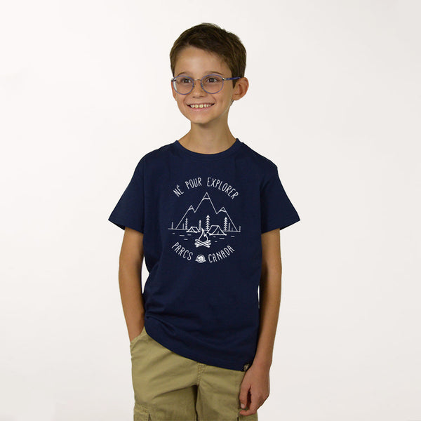Boys Born to Explore T-shirt- French