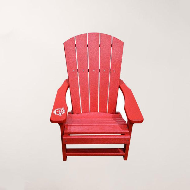 Children's Red Chair- Left