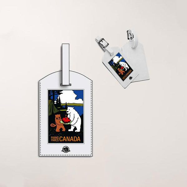 Castor and Pollux Luggage Tag