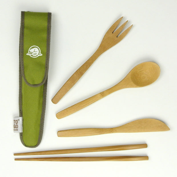 Reusable Bamboo Utensils