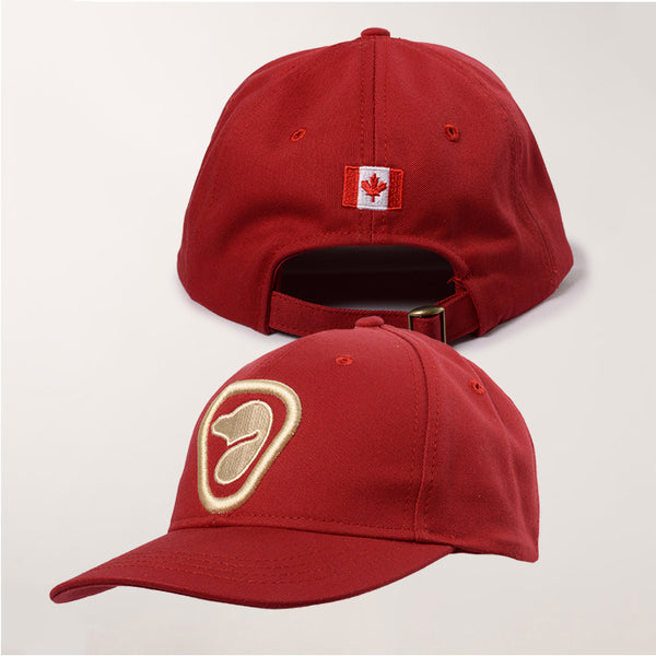 Red Retro Cap